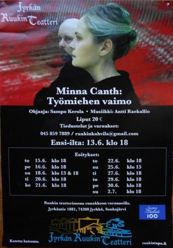 Minna Canth: työmiehen vaimo