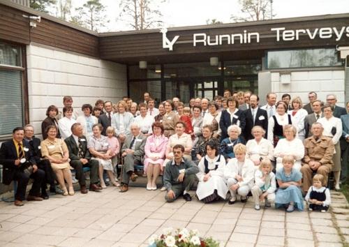 Iisalmen Runnilla  sukuseuran perustamiskokous 9.6.1985. (1)